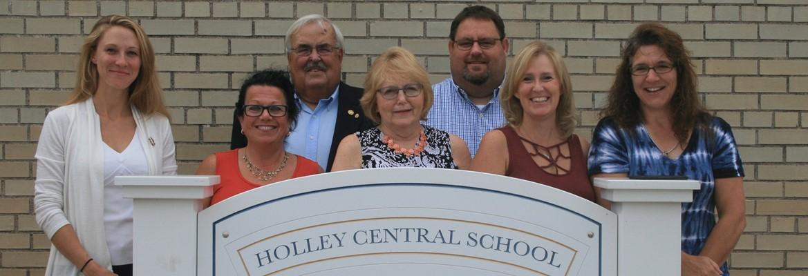Holley Board of Education members