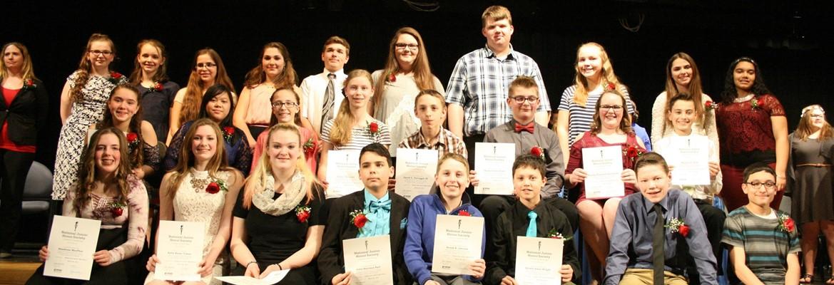 National Junior Honor Society members